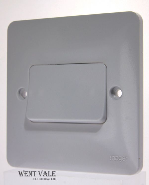 Hager Sollysta White Moulded WMPS12RW - 10a 1g 2w Retractive Wide Rocker Switch